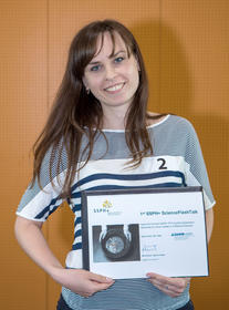 Kateryna Chepynoga wins 1st SSPH+ ScienceFlashTalk in Lugano, 9 June 2017