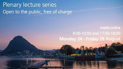 Join online the plenary lecture series of the SSPH+ Lugano Summer School